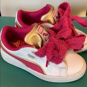 Kids Puma Fluffy Unicorn Sneakers Excellent